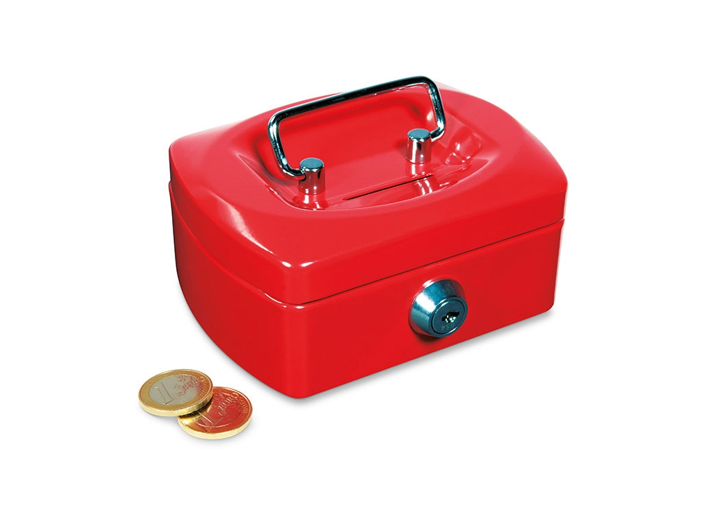 Mini safe box fireproof book safe money box mini safe for Large piggy bank with lock