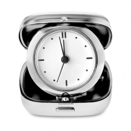 Metal Travel Alarm Clock