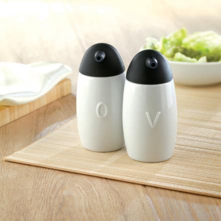 Ceramic oil & vinigar set