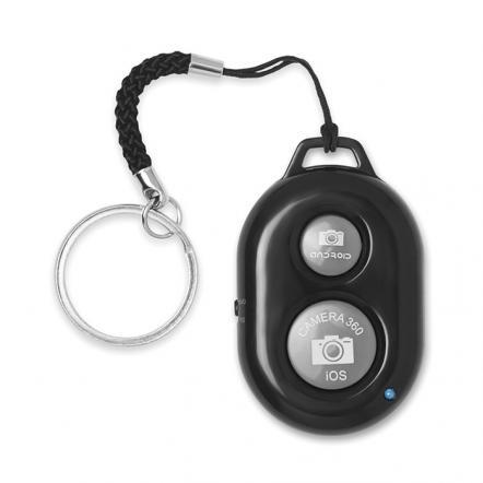 Key ring selfie remote