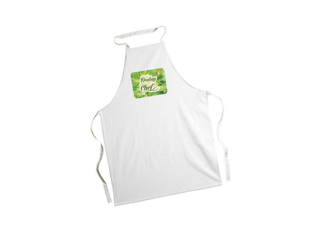 White apron dubai -  Kitchen Apron In Cotton