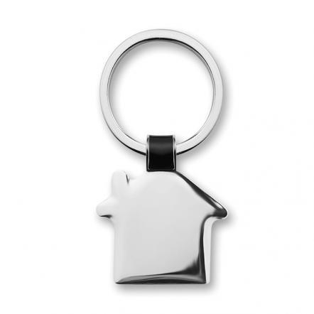 House shaped key ring