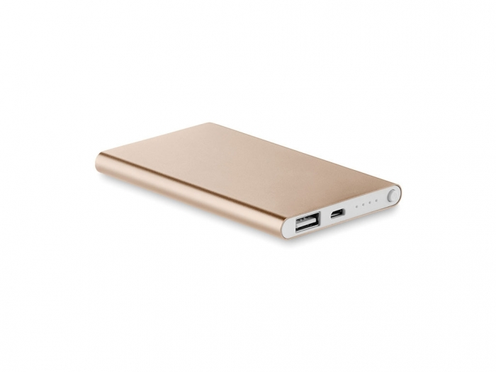 Flat power bank 4000 mAh
