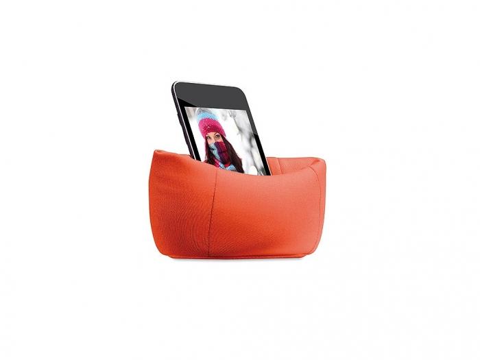Puffy smartphone holder
