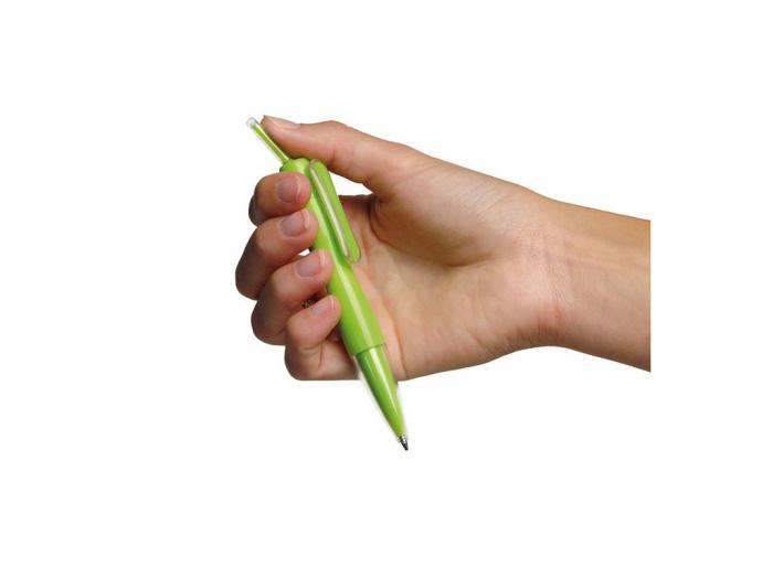 Automatic plastic ball pen