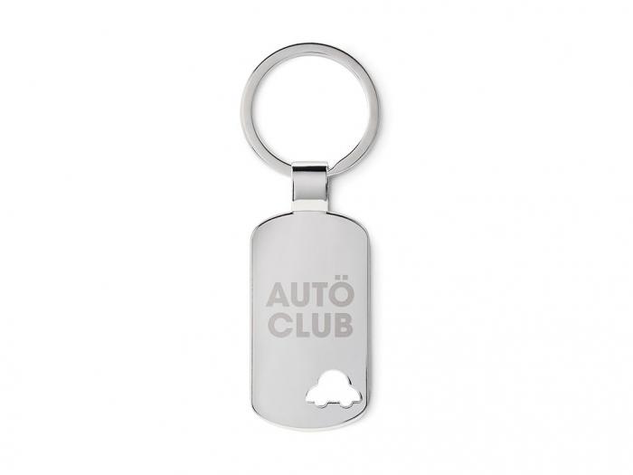 Keyring with car detail