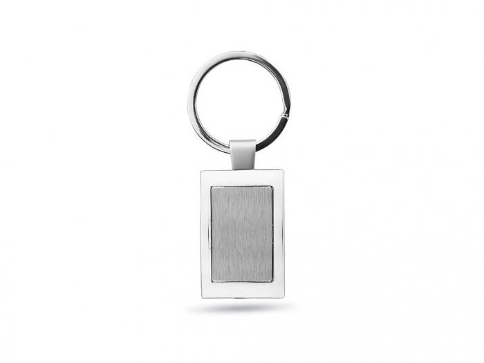 Metal Rectangular Key Ring