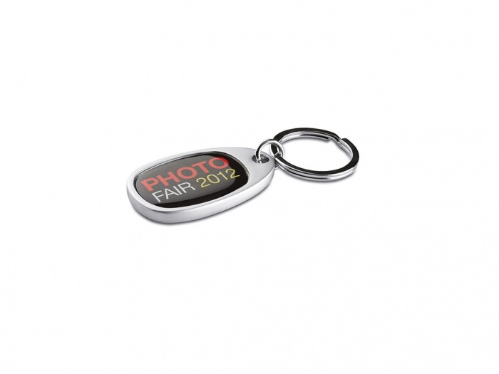 Metal key ring for doming