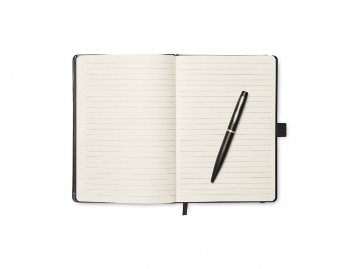 A5 lined page notebook