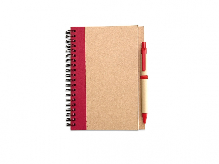 Notebook + pen