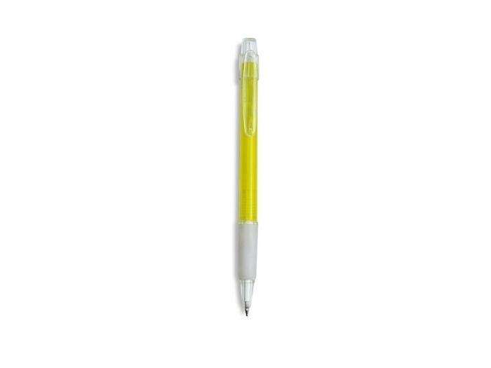 Push type plastic ball pen