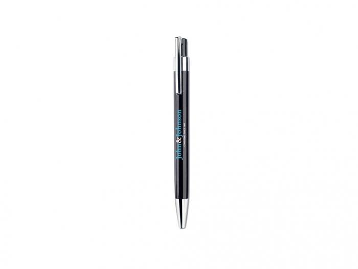 Ball pen in metallic matt finish