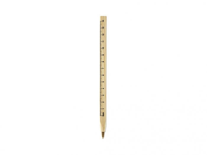 Wooden ruler pen