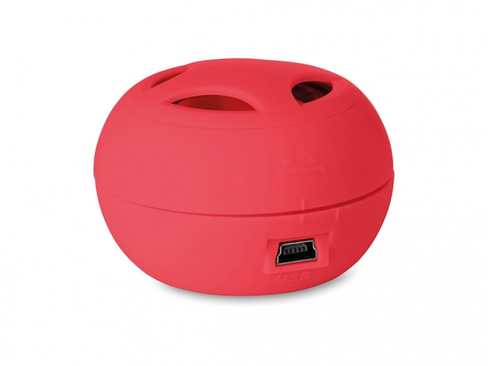 Mini speaker with cable