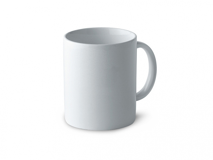 Classic cylindrical 300ml mug