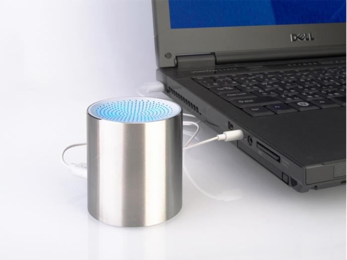 Cylinder shape speaker