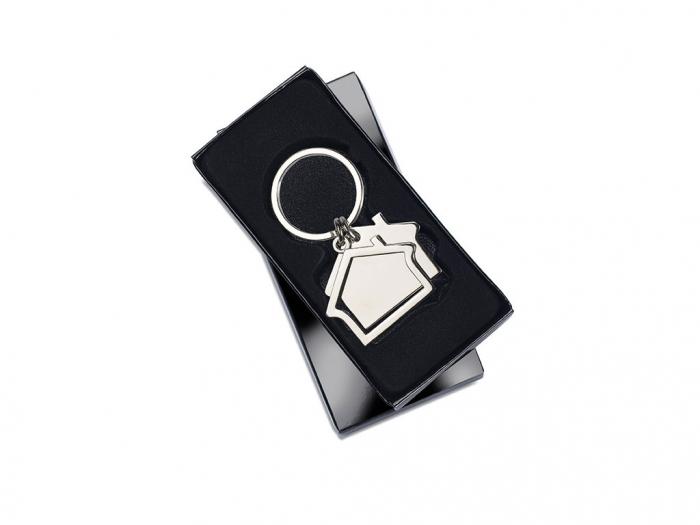 House Shape Key Ring