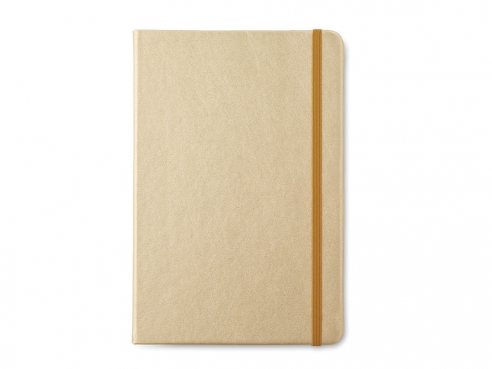 A5 notebook with soft PU