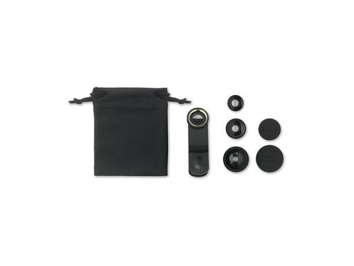 Mobile camera lens set