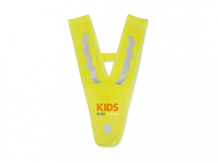 Children vest in triangle shape