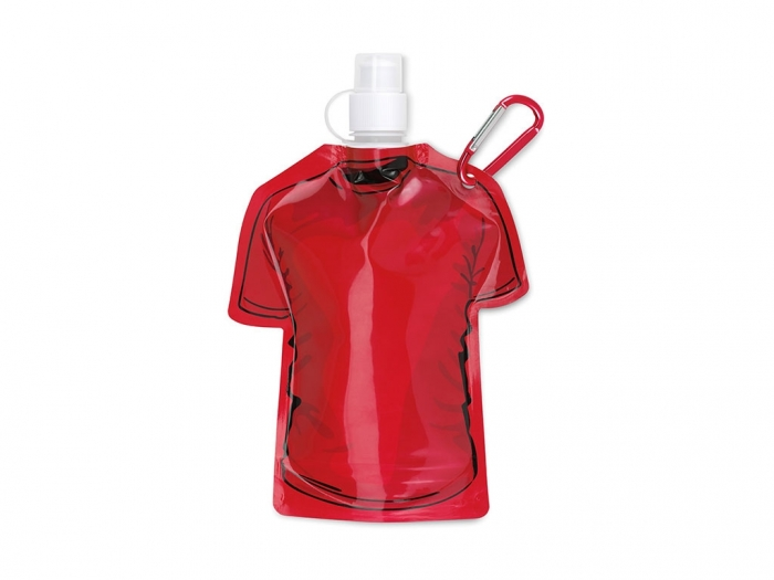 Foldable bottle T-shirt Shape