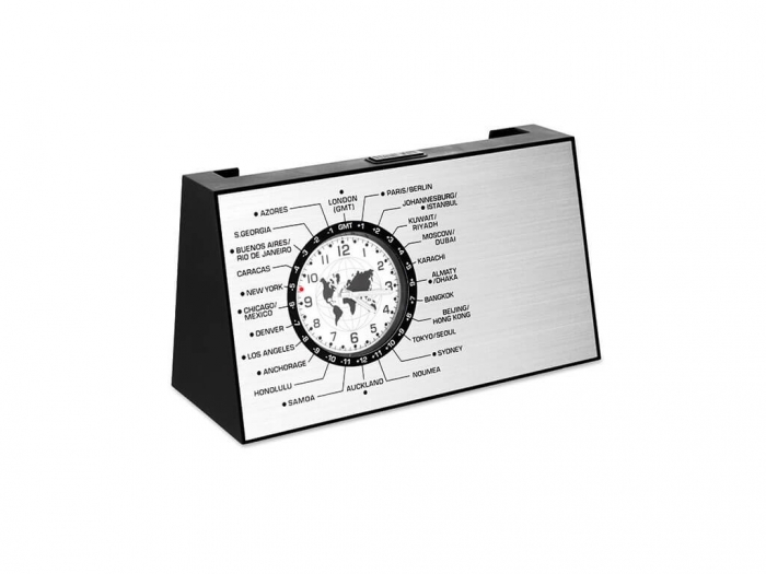 Spinning desk World time clock