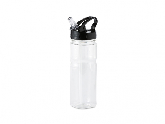 Plastic Bottle with Straw