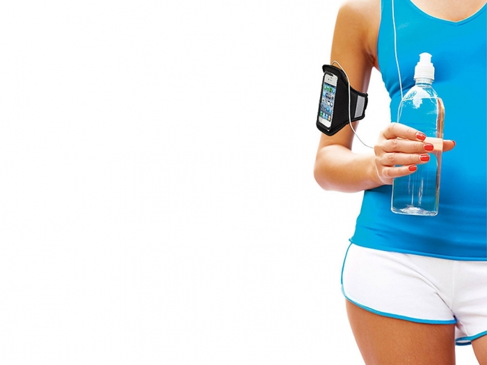 iPhone arm band pouch