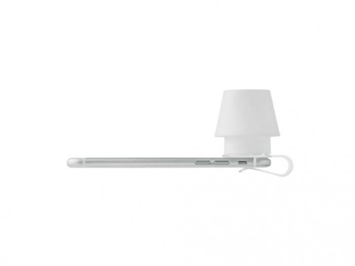 Phone lamp clip