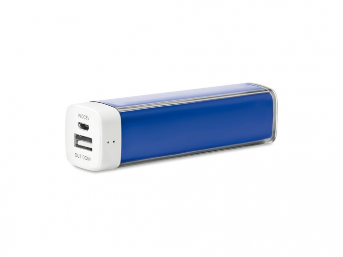 Power bank with indicator light