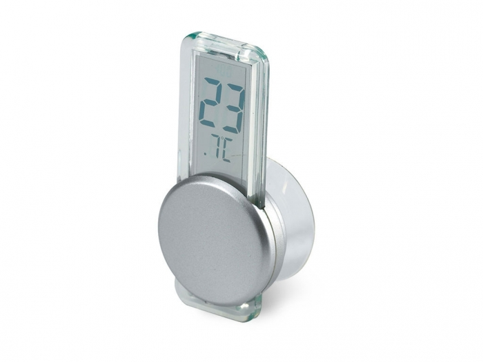 Thermometer with suction cup