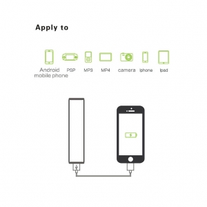 lipstick power bank 2600mAh