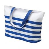 Bicolour beach bag