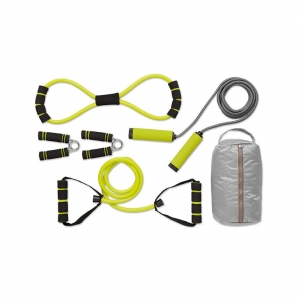 Fitness set in pouch