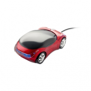 Mouse in car shape