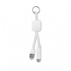Keyring with USB type C plug