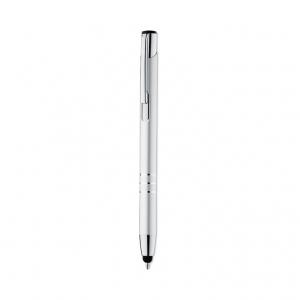 Aluminium push stylus ball pen