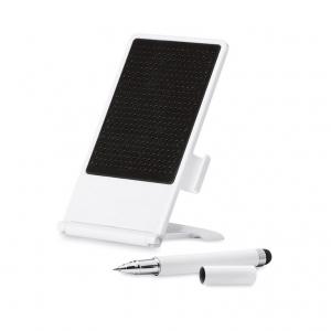 Smartphone stand, stylus pen