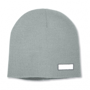 Double layer acrylic knitted beanie cap