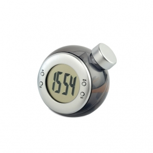 Water energy LCD clock