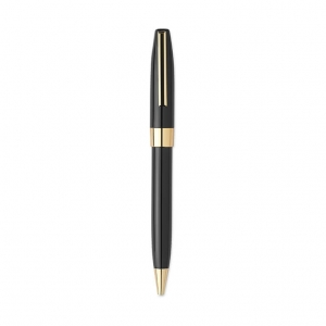 Ball pen with golden ring