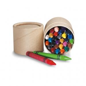Wax Crayons in Carton