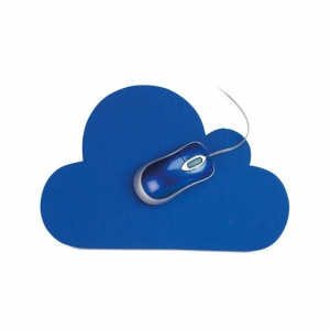 cloud shape mouse pad
