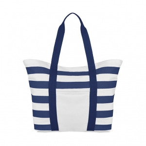 Beach bag in canvas
