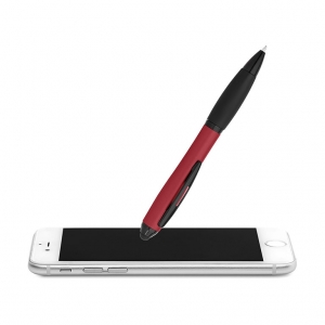 Twist pen with stylus