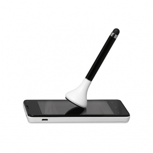 Stylus pen with cleaner & stand