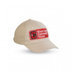 Baseball cap with adjustable rear strap