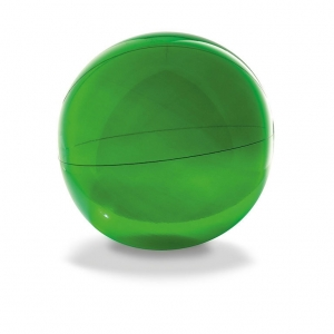 Beach ball in transparent PVC