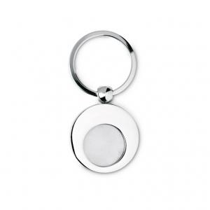 Round Metal Key Chain