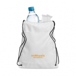 Drawstring Insulated Cooler Bag